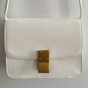 Handbags - White Céline inspired bag